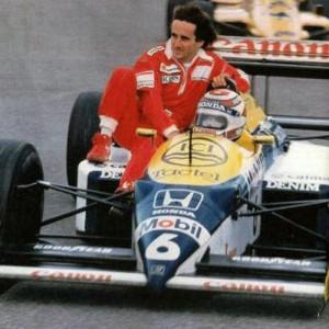 Prost e Piquet juntos? Balela!