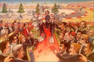 Bernie-Ecclestone-2013-Christmas-card