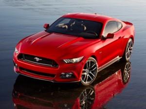 Mustang, 6ª edição, bandeira para vendas mundiais.
