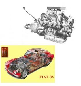 Motor 8V. 2.0 de potência igual à do Opala 4.1 nos anos '80.