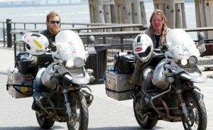 Ewan McGregor and Charley Boorman Ride End Transcontinental Journey