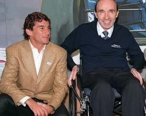 Frank Williams e Ayrton Senna: casamento durou pouco