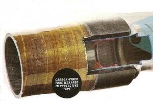 Cardã em fibra de carbono, novidade BMW