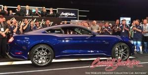 Mustang no. 1 foi a leilão de caridade: US$ 300 mil – menos que metade de Camaro Z/28 (foto divulgação).