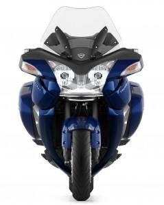 Front-of-2013-Triumph-Trophy-SE-Pacific-Blue-Color-Scheme