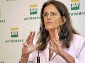 A CEO da Petrobras Maria das Graças Silva Fosters também aparece na lista da Fortune