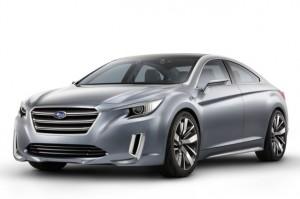 Subaru Legacy Concept inspirou o novo modelo