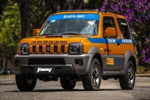 o valente Suzuki Jimny vai rodar 100 mil km