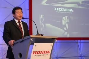 Issao Mizoguchi comandará a Honda na América do Sul