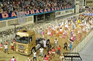 03)Valores corporativos da marca vão de encontro com valores da escola de samba, como Paixão e Disciplina.