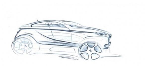 BMW X2 pode ter este conceito. Imagem via Bimmerpost