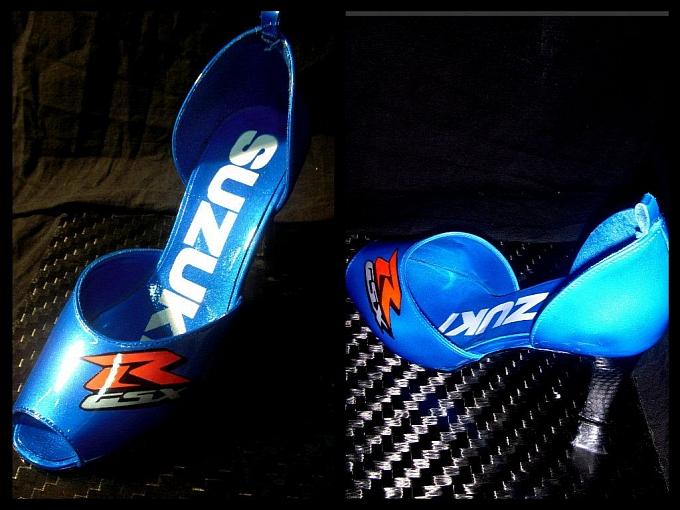 O azul da Suzuki, uma bela combinação