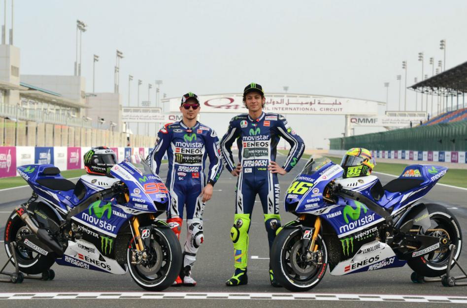 Lorenzo e Rossi: confiantes com a nova máquina