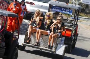 mulher bonita não faltou no GP da Austrália