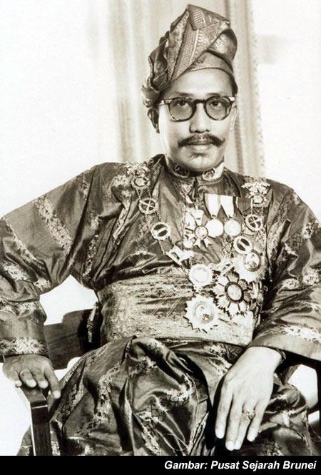 Sultan Omar Ali Saifuddien 3, o provável ex-dono da MB