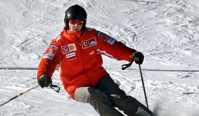 Esquiar era uma alegria para Schumy