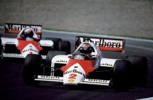 Na década de 80 a Porsche forneceu motor a McLaren