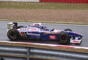 O título de 1997 na Fórmula 1; boas lembranças