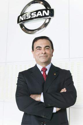 Carlos Goshn: acreditando na força do Brasil.