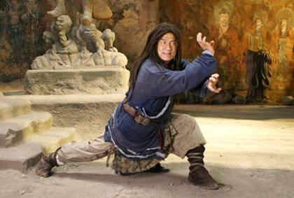 """Jackie Chan no filme """"Reino Proibido"""""""
