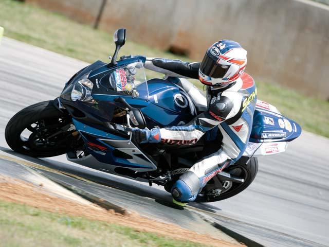 Schwantz na Suzuki Superbike GSX-R1000