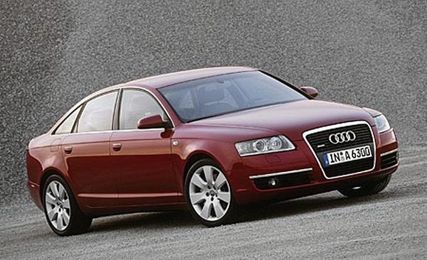 O Audi A6 levou o título em 2005