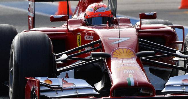 Kimi-Raikkonen-Ferrari-Day-One_3074021