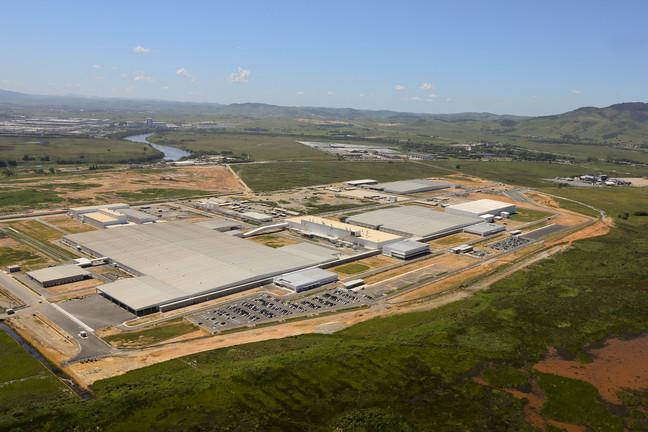 A nova fábrica da Nissan em Resende/RJ