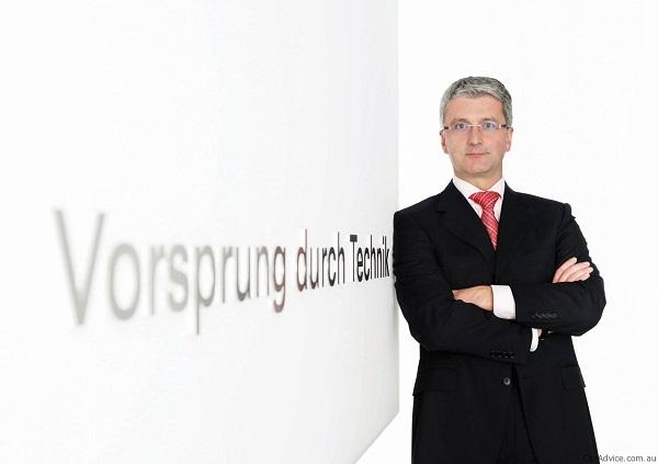 Rupert Stadler, o todo poderoso her Audi