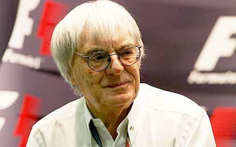 Bernie Ecclestone está esfuziante pela entrada do Team Haas na Fórmula 1.