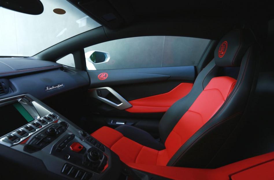 Detalhes exclusivos da Lamborghini Aventator Jackie Chan Edition