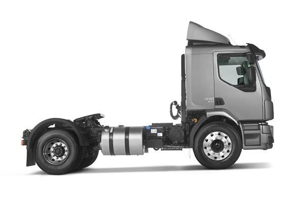 05)Até o momento, Volvo é a única fabricante a oferecer um cavalo mecânico semipesado automatizado.