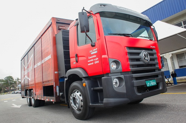VW Constellation tem autonomia de 200 quilômetros e pode transportar pouco mais de 1 tonelada de carga.
