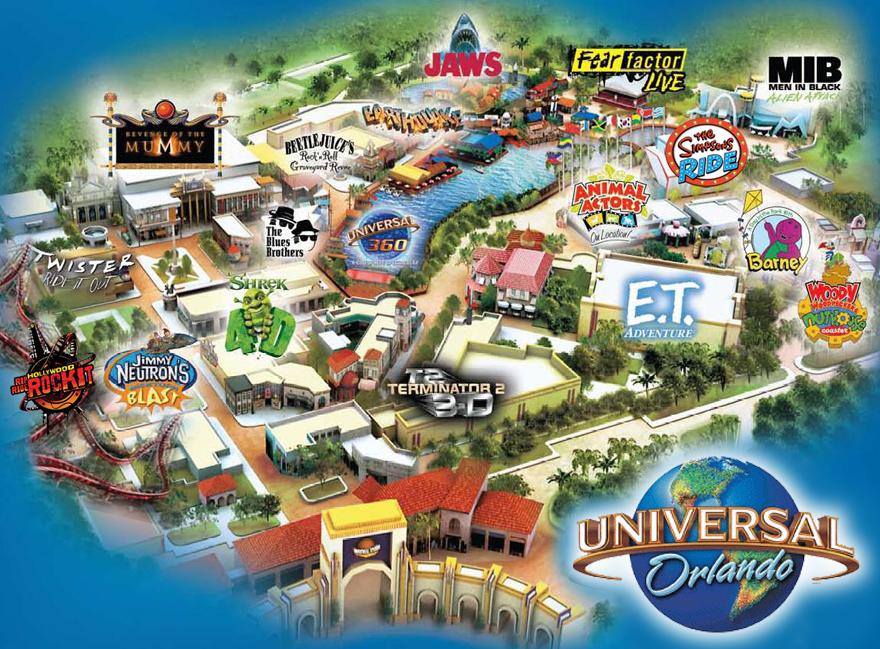 """Mapa do Universal Studios: onde vai ficar o """"Velozes e Furiosos""""?"""
