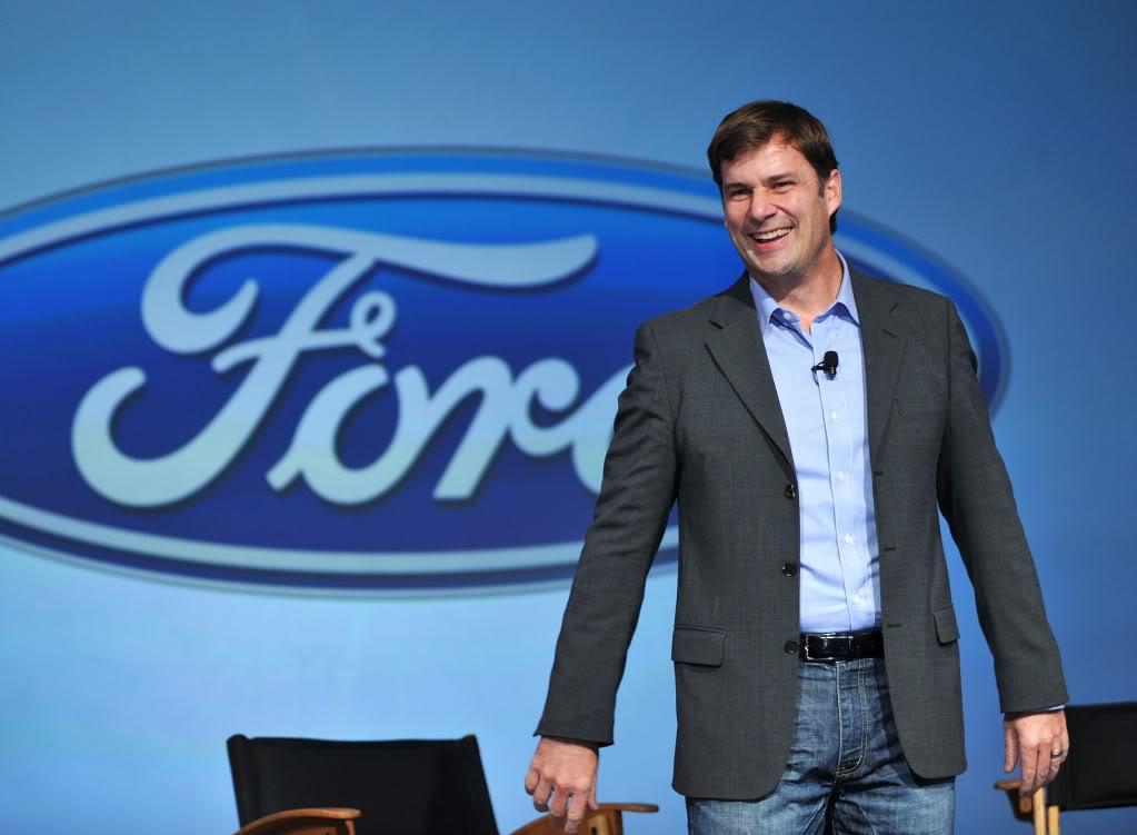Jim Farley, VP executivo de Marketing, Vendas e Serviço Global da Ford