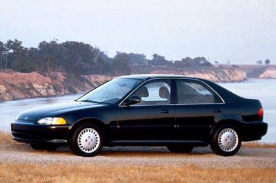 Honda Civic era assim em 1992