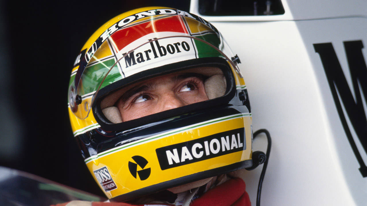 Senna In Japan