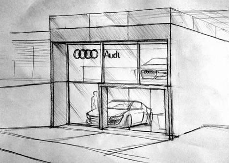 Sketch_Audi Lounge
