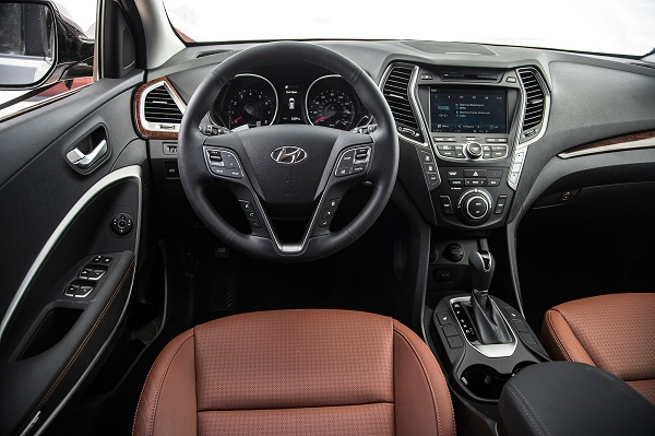 2014 Hyundai Santa Fe Limited Awd Drivers Side