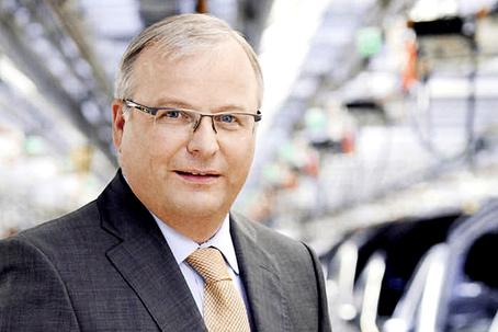 Dr. Hubert Waltl, membro do conselho de direção da AUDI AG