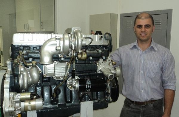 André Gonçalves, engenheiro da MANN-HUMEL