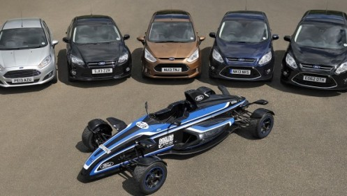 Modelos equipados com o premiado motor EcoBoost 1.0 litro.
