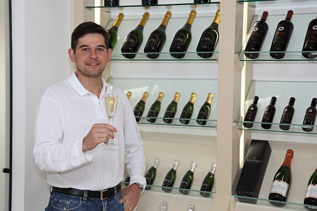 Daniel Dalla Valle, o enólogo da Casa Valduga