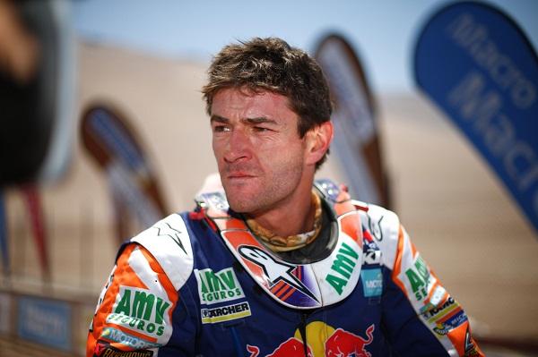Marc Comas lidera a categoria motos do Rally dos Sertões