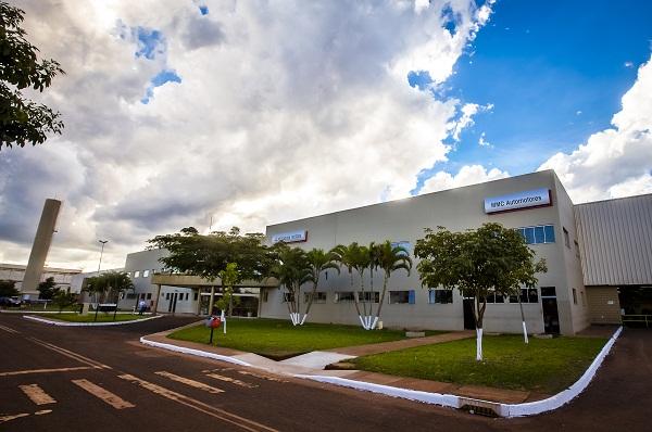 A fábrica da MMCB em Catalão, GO