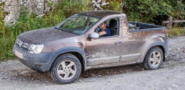 Picape Dacia Duster. Espera-se versão Renault revista e melhorada