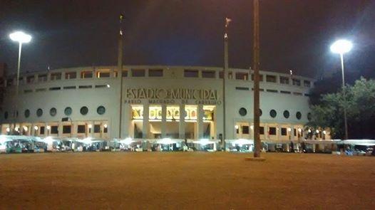 Frente Estádio Pacaembu
