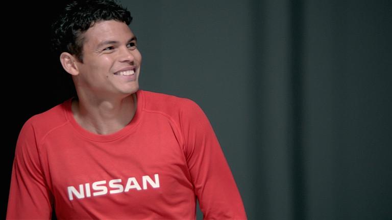O zagueiro brasileiro Thiago Silva