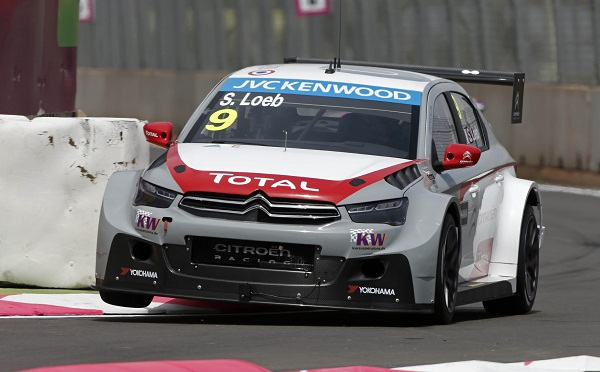 Sébastien Loeb, também piloto da Citroën, ficou em quarto na primeira prova.