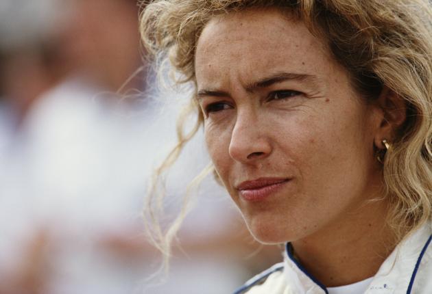 Giovanna Amati foi a última mulher a disputar uma prova de F1.